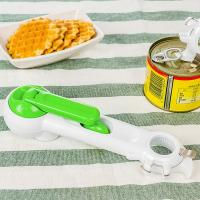 Buy cheap Picnic Gift Household 7 In 1 Can Opener , Multi Function Plastic Kitchen Tools from wholesalers