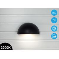 China Waterproof 7W Outdoor Arc LED Garden Wall Pack Light Plus Sockets 370lm 3000K CE RoHs wholesale