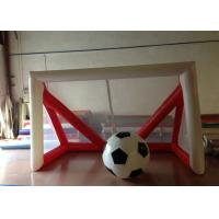 Buy cheap Children Inflatable Football Games Airtight inflatable goal for football games Children football score games product