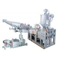 Buy cheap high effective practical hdpe pipe fabrication machine production line extruding machine for sale from wholesalers