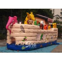 Buy cheap Safety Noah's Ark Paradise Inflatable Combo Bounce House For Kids product