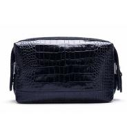 Buy cheap Zippered PVC / PU Leather Cosmetic Toiletry Bag OEM / ODM Acceptable product