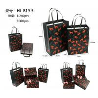 Buy cheap Customize Paper Jewellery packaging Bags with Flower Animal Printing product