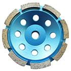 Buy cheap Single Row Diamond Cup Wheel for stone,concrete,marble and granite,cutting fast,good price,high quality product