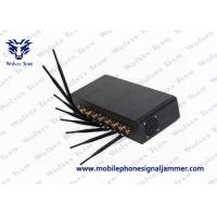 Buy cheap GSM CDMA WiFi 3G/4Gwimax High Power Mobile Phone Blocker with 8 Powerful Antennas product