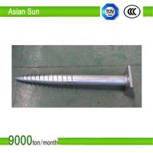 Buy cheap Galvanized Steel Ground Screw product
