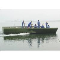 Buy cheap 104m Prefabricated Military Pontoon Floating Bridge / Boats For Tank, Artillery product