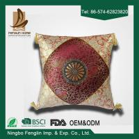 China Indoor Jacquard Canvas Couch Cushion Covers Decorative Pillows For Couch on sale