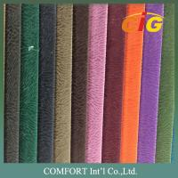 China Width 140 - 160 CM Sofa Upholstery Fabric Home Textile 100% Polyester Linen Textile on sale