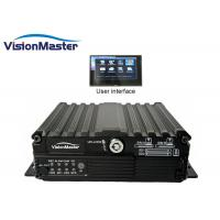 Buy cheap GPS / 3G / Wifi 4 Channel Car DVR Recorder Multistar Network Viewer Black Color from wholesalers