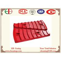 Buy cheap Φ36004500 Mine Mill Feed End Liner Plates for Grinding Al2O3 Ore ASTM A532 Cr20Mo EB7007 product