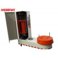 Buy cheap Pre - Stretch Luggage Wrapping Machine , Dust Proof Airport Baggage Wrapping Machine product