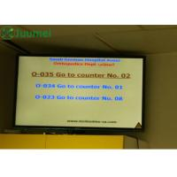 Buy cheap 42 Inch Queue Display System / Commercial Wireless Calling System product