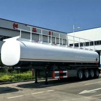 Buy cheap 42000 Liters Oil Fuel Tank Heavy Duty Semi Trailers With Carbon Steel Matrrial And FUWA Axle product