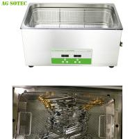 Buy cheap Water Bath Dental / Denture Lab Equipmen Sonicator For Laboratory Instrument Cleaning 30L product