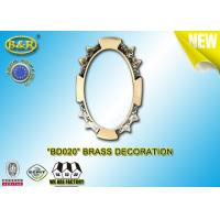 Buy cheap Ref .BD020 Brass Decoration Metal Tombstone Frame Material Copper Alloy product