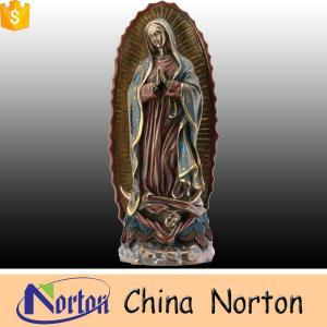 China 卸し売り庭の装飾の実物大のヨーロッパの地方特徴の青銅の聖母マリアの彫像NTBH-S001 on sale