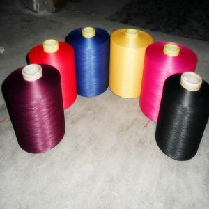 China Polyester Spun Yarn for Kintting and Weaving Polyester Yarn Ring Spun 30/1 Yarn 40/2 on sale