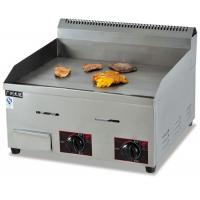 Buy cheap Commercial Electric Griddle / Countertop Gas Griddle 36.7KW , Stainless Steel product