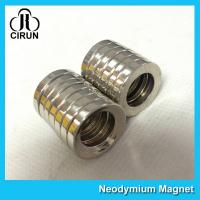 Buy cheap Multipole Radial Magnetization Neodymium Magnets Ring Shaped for Speaker product