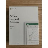 Buy cheap Key Card Microsoft Office Home And Business 2019 Word Access Valid For Lifetime from wholesalers