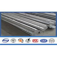 Buy cheap 35FT High 3mm Thick Q345 Hot Dip Galvanized Octagonal Shape Electric Steel Pole product