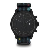 Buy cheap Preofessional Nylon Band Watches Mans / Women'S Black Stainless Steel Watch product