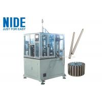 Buy cheap 4KW Rotor Assembly Line , Servo Automatic Armature Commutator Shaft Inserting Machine product