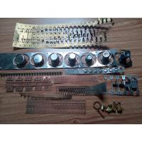 Buy cheap Stamping Die / Moulds Brass Stamping Parts One Row Cavity Sodick Wire EDM product