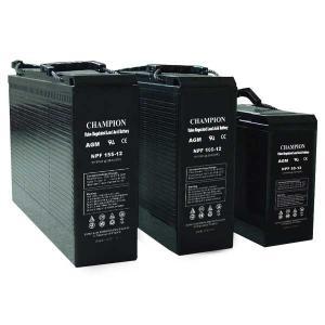 Buy cheap Champion 12V155AH AGM battery 12V100AH NPF Front Terminal battery 12V55AH NPF Lead Acid Battery product