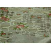 China Loop Side Rubber Coated Nylon Flower Pattern Custom Fleece Fabric,Water Resistant Cotton Fabric on sale