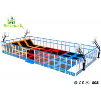 Buy cheap Commercial Indoor Playground Trampoline , Jump Trampoline Park With Safety Net from wholesalers