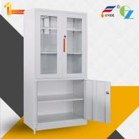 Buy cheap New Type widely used Glass and Steel Swing Doors Cupboard / cabinet product