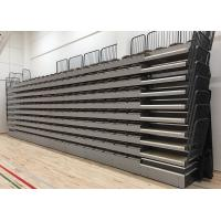 Buy cheap Moveable Temporary Grandstand Seating Wall Attached Unit Platform With Rear Guardrail product