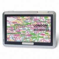 Buy cheap Portable GPS with 4.3-inch Samsung Super Hi-clear Digital Touching TFT LCD product
