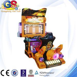Buy cheap 2014 vente maximum de machine de jeu électronique d'air de 3D 5D, machine de jeu de courses d'automobiles product