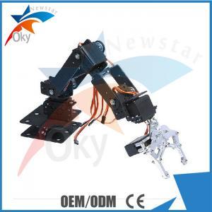 Buy cheap 6DOF Clamp Claw Mount Arduino DOF Robot Aluminium Rotating Mechanical Robotic Arm from wholesalers