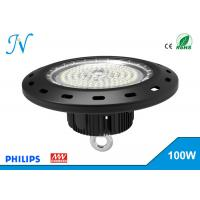 Buy cheap 100W UFO LED High Bay Lights AC 90-305V With MEANWELL Driver , High Bay Led Lights product