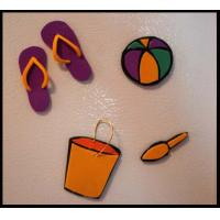 Buy cheap soft pvc bean fridge magnet product
