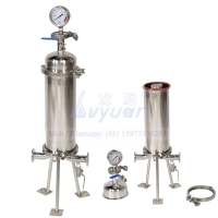 Buy cheap Double Clamp 1mm 20 Microns Water Filter Cartridge Housing product
