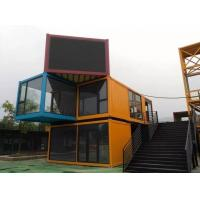 Buy cheap Light Metal Sandwich Panel Container House For  Workers Office House product