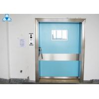 Buy cheap Outside Powder Coated Hospital Air Filter Blue Color With Single Swing Door product