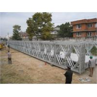 Quality Galvanized Military Floating Bridge Highly Mobile Army Temporary Bridge for sale