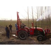 Buy cheap Tractor drilling rig for Shothole product