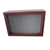China Portable Vacuum High Temp Hepa Filter Pharmaceutical Factory Clean Room H14 on sale