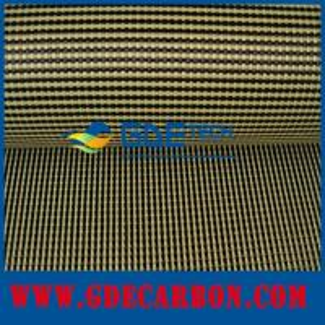 Buy cheap Ткань гибрида Кевлара углерода цветов product