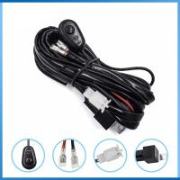 Offroad Light Bar Wiring Harness Kit DT Plug Auto Power LED Connecting for car accessories