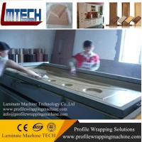 Buy cheap speaker box vacuum membrane press machine product