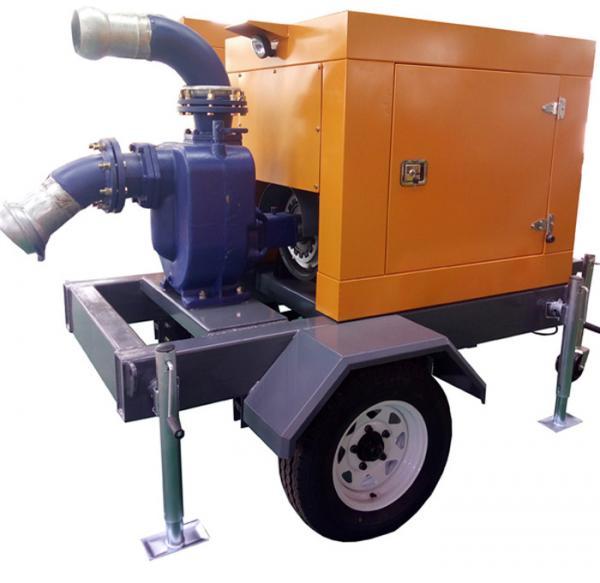 Compact diesel irrigation water pump centrifugal water for Diesel irrigation motors for sale