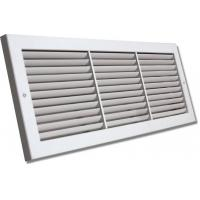 Linear Return Grilles : Square aluminium egg crate air grille linear deflection